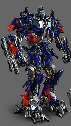 Optimus Prime Go Locker Theme For Android Phone
