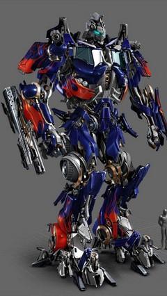 Optimus Prime Go Locker Theme For Android Phone