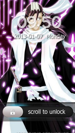 Byakuya Kuchiki Go Locker Theme