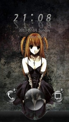 Death Note Go Locker