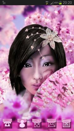 Japan Girl GO Launcher Theme-release