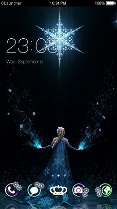 Frozen Theme