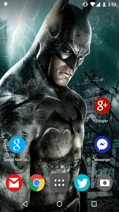 Batman Ultimate Games 2015 - Android Launcher Theme