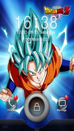 Goku ssjGod
