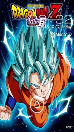 Goku ssj god blue