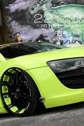 Audi R8 Locker