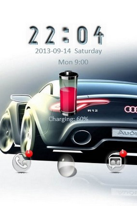 Audi R12 Go Locker