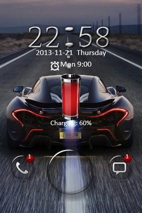 McLaren P1 Go Locker