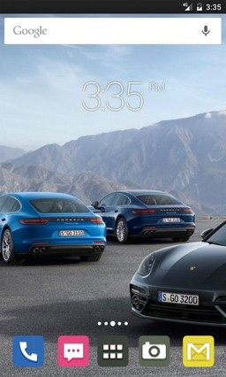 Three Cars HD Go Launcher Theme