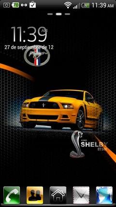 Mustang Go Lancher EX