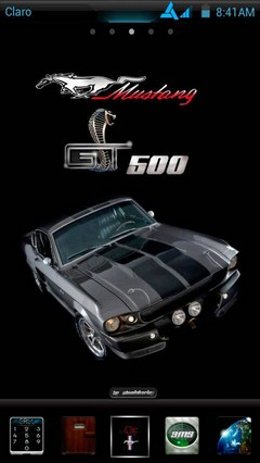 Mustang GT500 Eleanor Go Launcher