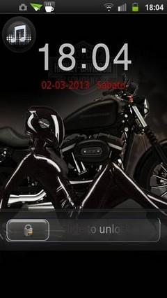 Harley Motors Go Locker
