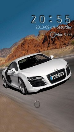 Audi R8 Go Locker