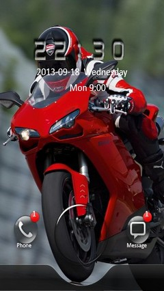 DUCATI Go Locker