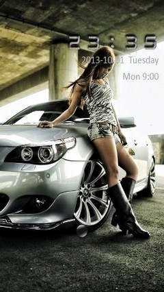 BMW Girl Go Locker