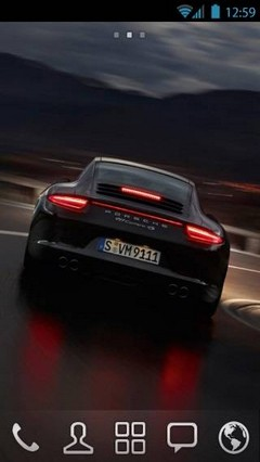 Porsche by vanko Go theme