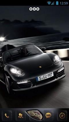Black Porsche 359