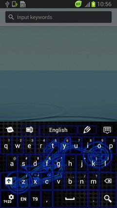 Neon Motocross Keyboard