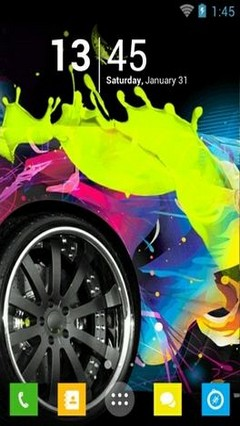 Colourful Wheels