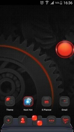 Dark Energy 3D Theme