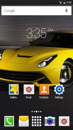 Ferrari 12berlinetta ADW Launcher Theme