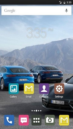 Three Cars HD Go Launcher Theme