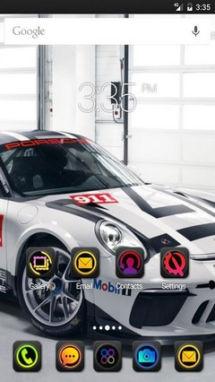 Car cup wide Nova Launcher Theme