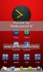 Peek a Droid GO Launcher EX