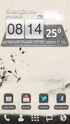 Ink Theme GO Launcher EX