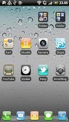 iPhone Go Launcher EX Theme