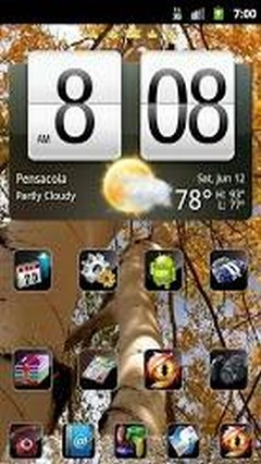 Go Launcher EX Theme Autumn