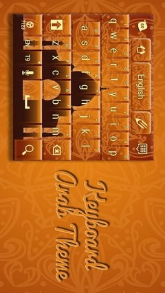 Keyboard Arab Theme