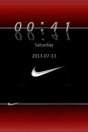 Red Nike Go Locker