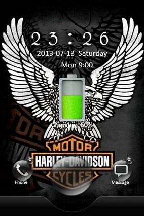 Harley Davidson Go Locker