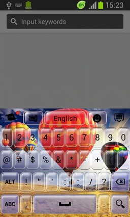 Keypad for Huawei Ascend G300