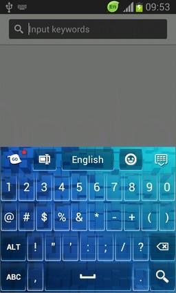 Keyboard for HTC One Mini