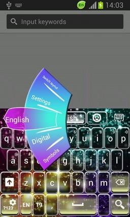 Keyboard Theme for Huawei P6