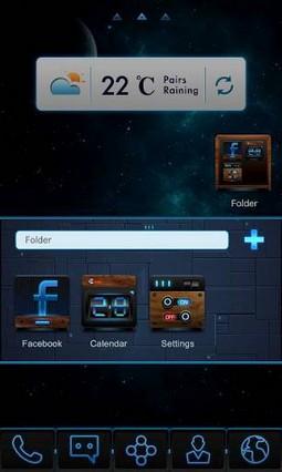Blu-ray GO LauncherEX Theme v1.2