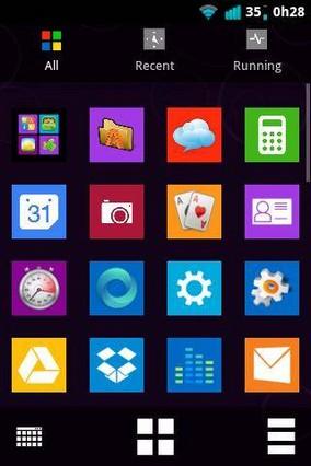 Windows 8 Metro Go Launcher EX