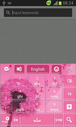 Pink Keypad for Galaxy S3 Mini