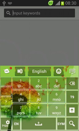 Color Keyboard for Galaxy S3 Mini