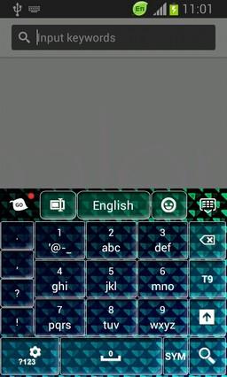 Keyboard for Galaxy Proclaim