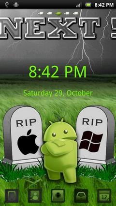 killer android go launcher ex theme