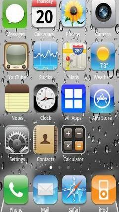 iPhone 4S theme