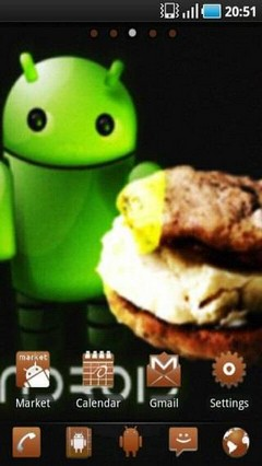 Ice Cream Sandwich Go launcher