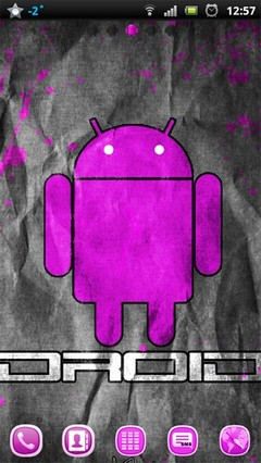 pink droid