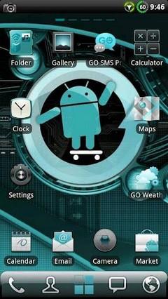 Cyanogen GO Launcher EX Theme 1.14