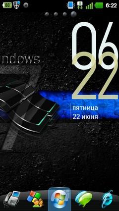Windows 7 Black Theme 1.01