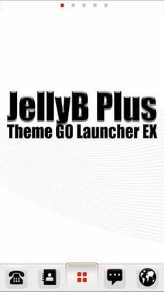 JellyB GO LauncherEX Theme