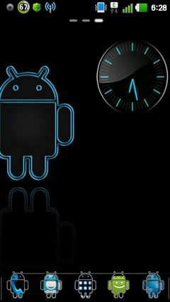 Androidified GO Launcher Theme